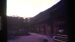 1983: a large area with lots of buildings and no people around DENMARK Stock Footage
