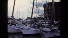 1970: ships ready for the action ANNAPOLIS Stock Footage