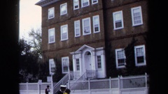 1970: newly built three story residence in the center of city ANNAPOLIS Stock Footage