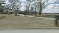Driving plate: Dexter-Ann Arbor, MI, right side view CD Stock Footage