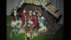 1981: birth of jesus CALIFORNIA Stock Footage