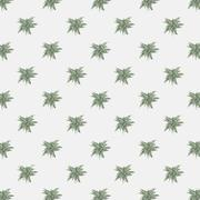 Vector seamless texture with abstract leaves. Endless background. Vector ba.. Stock Illustration