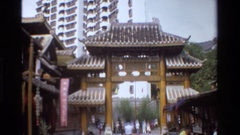 1984: views from asia town SINGAPORE THAILAND Stock Footage