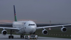 Airbus A 340 Stock Footage