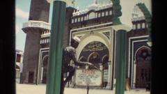 1983: extravagant architecture NAIROBI KENYA Stock Footage