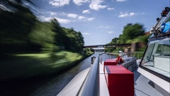 Berlin Wannsee Time Lapse Stock Footage