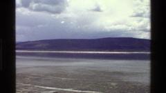 1983: sweeping shot of low hills and flat land MARA TANZANIA Stock Footage