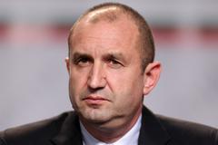 Bulgarian President-elect Rumen Radev Stock Photos