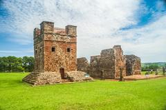 Jesuit missions in Paraguay Stock Photos