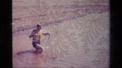 1977: adventure sports LAKE ELSINORE CALIFORNIA Stock Footage