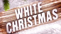 White Christmas Stock After Effects