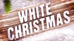 White Christmas Kuvapankki erikoistehosteet