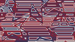 Star lines red and blue background. Abstract vector illustration. Creative .. Stock Illustration