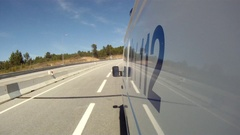 Ambulance in emergency operation Stock Footage