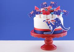 Happy Australia Day celebration cake Stock Photos
