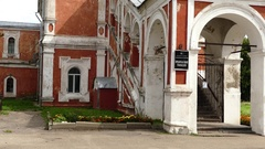 Orthodox Gymnasium, Church of Nicholas, Smolensk Stock Footage