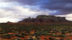 Monument Valley National Park in Arizona Stock Footage