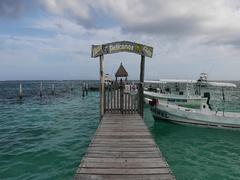 Morelos Mexico Yacht Club pier boats ocean DCI 4K Stock Footage