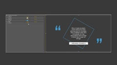 Quotes Titles Stock After Effects