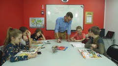 Classroom Learning Students Study Concept Stock Footage
