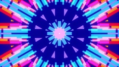 Blue abstract background, moving colorfull lines, loop Stock Footage