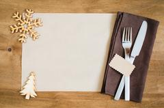 Winter Holiday. Christmas Culinary Background. Stock Photos