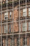 Glasgow Modern Vintage Stock Photos