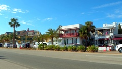 Bayfront hotels St Augustine FL Stock Footage