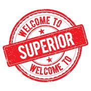 Welcome to SUPERIOR Stamp. Stock Illustration