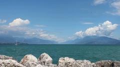 Lake Garda (Lago di Garda) Stock Footage