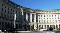 US EPA Headquarters building Stock Footage