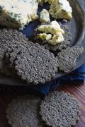 Charcoal Biscuits Stock Photos