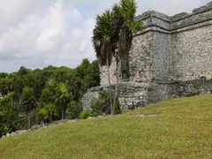 Tulum Mexico ancient Mayan ruins on coast DCI 4K Arkistovideo