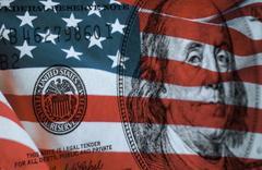 Federal reserve system symbol Stock Photos