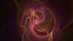 Colorful curves abstract loop motion background Stock Footage