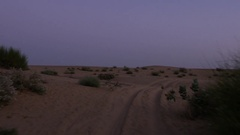 POV of a Rajasthan Desert Stock Footage
