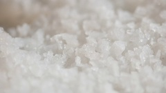 Dripping sea salt Stock Footage