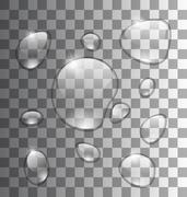 Water Abstract Grey Background Stock Illustration