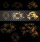 Firework realistic 07 mf Piirros