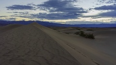 The beautiful Mesquite Flat Dunes Stock Footage