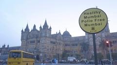 Mumbai CST railway station Stock Footage