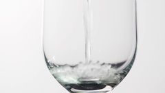 Champagne Glass Stock Footage
