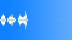 Large Plastic Lid Screw 1 Sound Effect