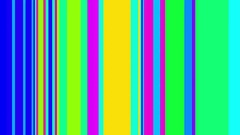 Colorful Shifting Vertical Bars Abstract Motion Background Loop Stock Footage