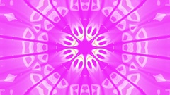 Pink Burst Pulsing Psychedelic Kaleidoscope VJ Motion Background Loop Arkistovideo