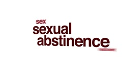 Sexual abstinence animated word cloud. Stock Footage