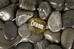 Dream Encouragement Stone Kuvituskuvat