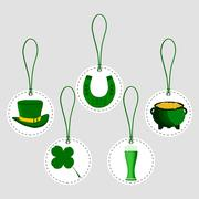 Celebration Holiday St. Patrick's day Stock Illustration