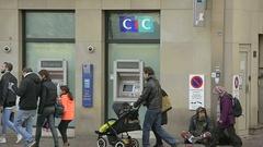 Homeless beggar France Arkistovideo
