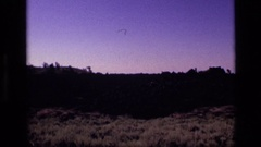 1972: view of the outdoors with many different landforms IDAHO Stock Footage
